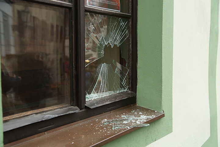 A2B Glass are able to board up broken windows while they are being repaired in Beverley.